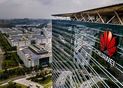 Một nhà máy của Huawei ở Quảng Đông (Trung Quốc). Ảnh: Reuters.