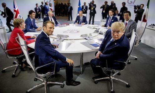 Những vấn đề đốt nóng G7 tại Pháp ảnh 1
