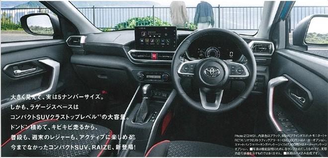 Lộ diện Toyota Raize - crossover mới nhỏ hơn RAV4 ảnh 1