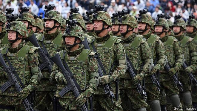 Do dân số già hoá, Lực lượng Phòng vệ Nhật Bản cũng gặp khó khăn trong công tác tuyển quân. Ảnh: Getty.