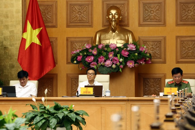 Phó Thủ tướng Vũ Đức Đam: Dịch bệnh ở thành phố Đà Nẵng thời gian qua là lời cảnh báo rất nghiêm khắc. Ảnh: VGP/Đình Nam.