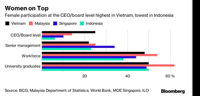 Phụ nữ Việt Nam nổi bật ở vị trí lãnh đạo doanh nghiệp ảnh 1