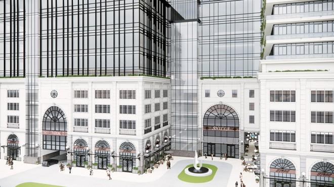 Phối cảnh dự án Khu phức hợp cao cấp trên 'đất vàng' Khách sạn Kim Liên do Thaiholdings 'bắt tay' Samsung triển khai