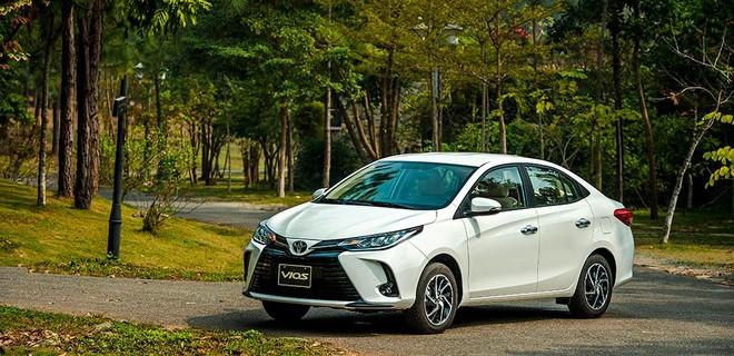 Toyota Vios đứng ở vị trí thứ hai với doanh số 2.014 xe (ảnh minh họa)