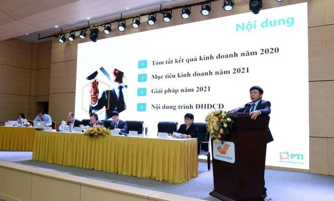 ĐHCĐ PTI: Đặt mục tiêu đạt 6.600 tỷ đồng trong năm 2021