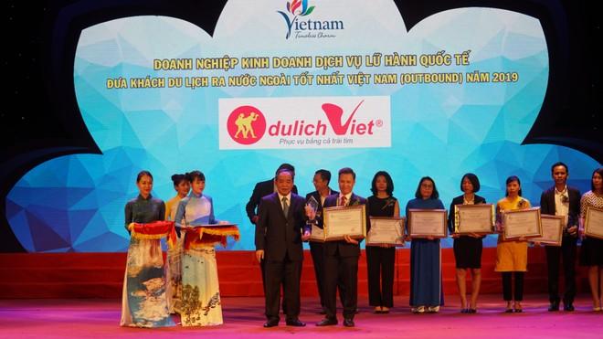 Tôn vinh doanh nghiệp tốt nhất trong ngành du lịch Việt Nam