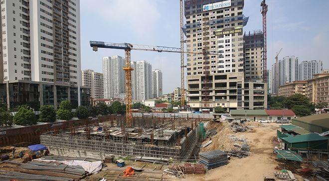 Từ tháng 6/2016, Chi cục Thuế quận Thanh Xuân đã có công văn gửi Công an quận Thanh Xuân đề nghị phối hợp thực hiện các biện pháp cưỡng chế tiền sử dụng đất với Tổng công ty Thành An - Dự án 21 Lê Văn Lương với số nợ thuế hơn 188 tỷ đồng.