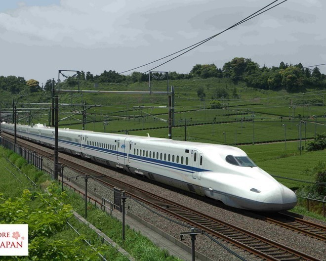 Mẫu tàu Shinkansen của Nhật Bản. (Nguồn: vulcanpost.com)