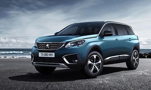 Peugeot 5008, tân binh SUV bảy chỗ sắp ra mắt Việt Nam.
