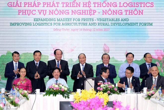 Thủ tướng nhấn mạnh việc cải thiện logistics để phát triển ngành rau củ quả ảnh 1