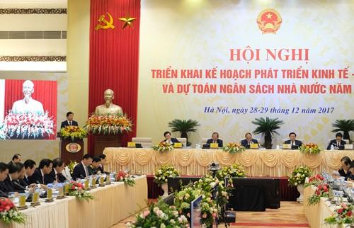 Hội nghị trực tuyến Chính phủ với địa phương diễn ra trong hai ngày 28 và 29/12. Ảnh: Xuân Tuyến