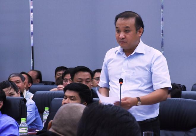 Ông Lê Quang Nam, Giám đốc Sở Tài nguyên - Môi trường, một trong số lãnh đạo bị xem xét đề nghị kỷ luật. Ảnh: zing.vn