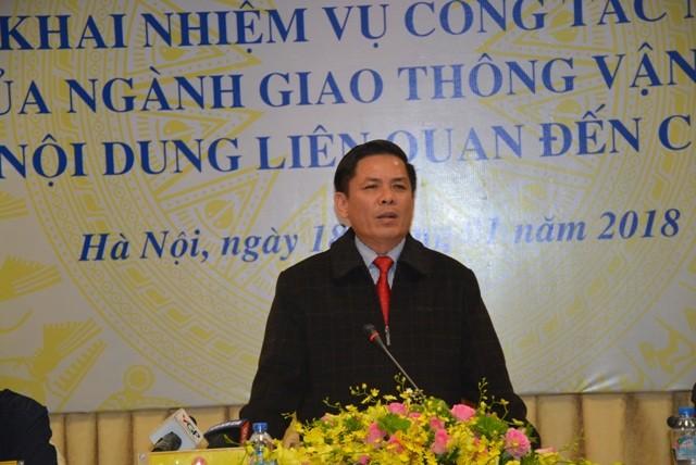Đích thân Bộ trưởng Nguyễn Văn Thể chủ trì họp báo giải đáp các vấn đề liên quan đến các dự án BOT.