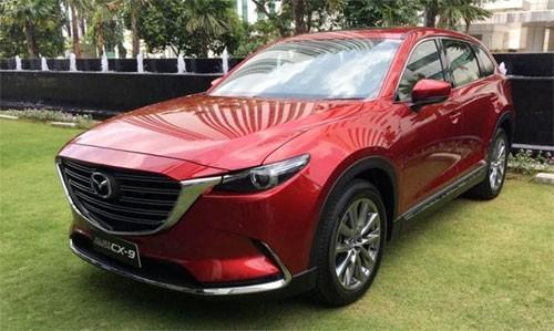CX-9 thế hệ thứ hai ra mắt khách hàng Indonesia ngày 1/2. Ảnh: Otomotif.
