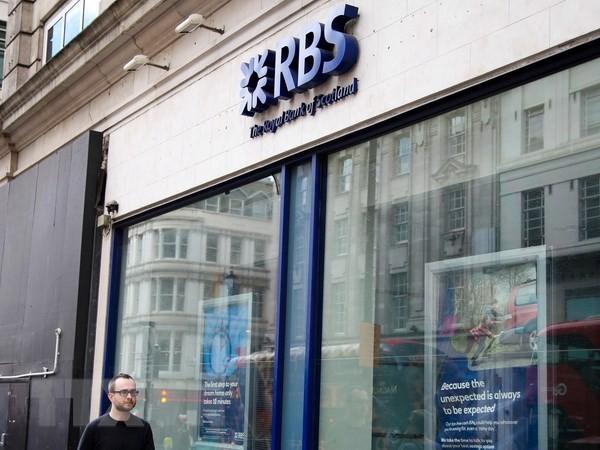 Một chi nhánh của RBS. (Nguồn: The Guardian/ TTXVN)