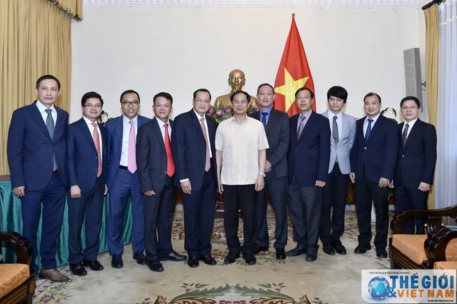 Công bố quyết định nhân sự Bộ Ngoại giao