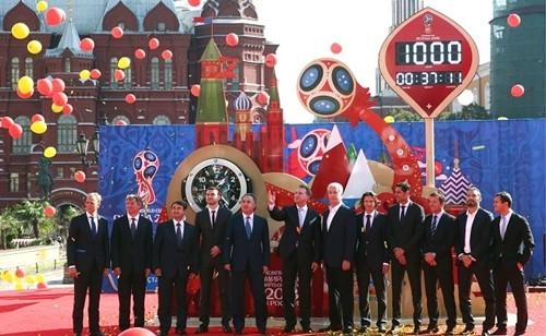 Hàng loạt công ty Trung Quốc trở thành nhà tài trợ cho World Cup lần này. Ảnh: Russian Business Today.
