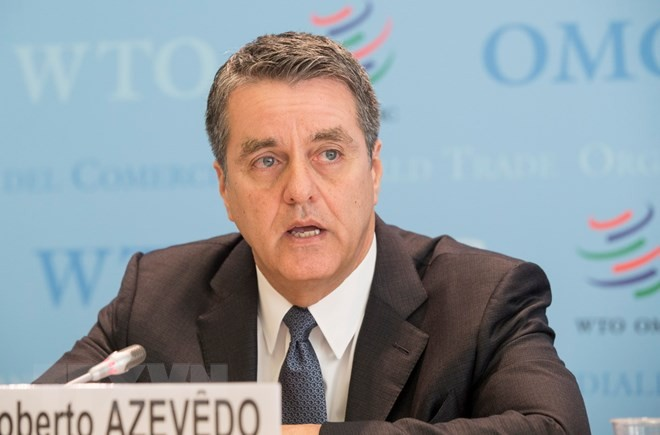 Tổng giám đốc WTO Roberto Azevedo. (Nguồn: THX/TTXVN).