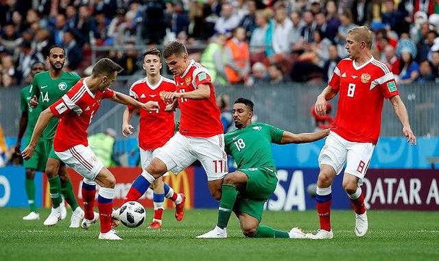 Một trận đấu tại World Cup 2018.