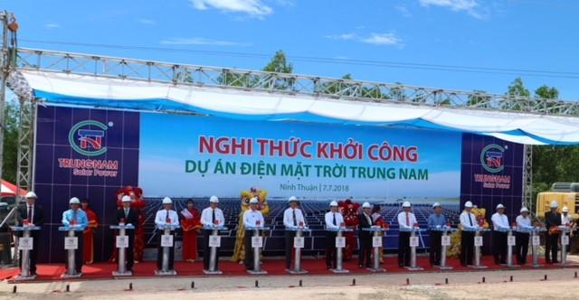 Siemens cung cấp thiết bị cho nhà máy điện mặt trời lớn nhất Việt Nam ảnh 1