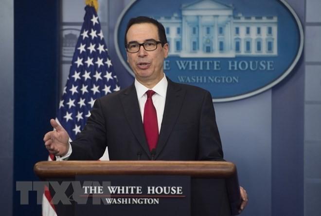 Bộ trưởng Tài chính Mỹ Steven Mnuchin. (Nguồn: AFP/TTXVN).