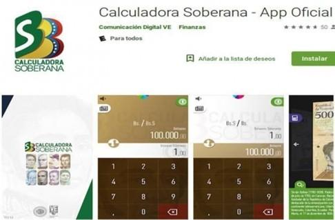 Người Venezuela phải dùng ứng dụng để quy đổi tiền ảnh 1
