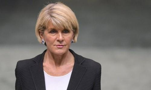 Cựu ngoại trưởng Australia Julie Bishop. Ảnh: Reuters.