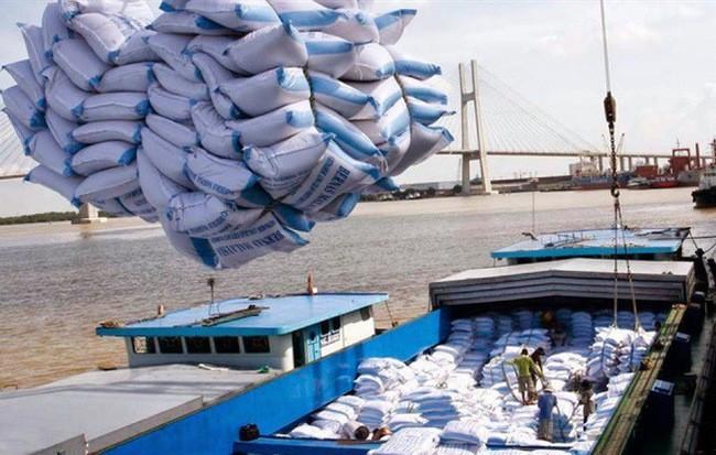 Xuất khẩu gạo của Việt Nam tăng mạnh