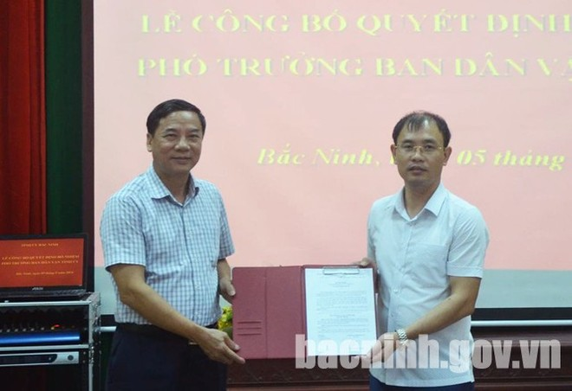 Bổ nhiệm nhân sự Gia Lai, Bắc Ninh, Phú Yên ảnh 1