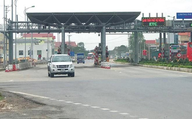 Thu phí không dừng tại trạm BOT QL1 đoạn qua Quảng Bình.