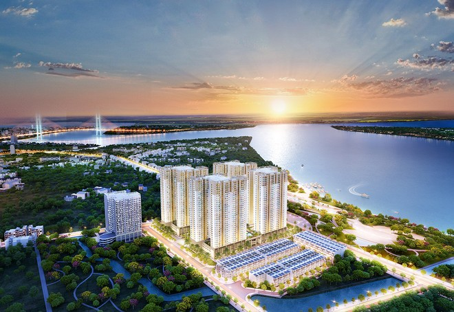 Căn hộ Q7 Saigon Riverside Complex - Một dự án do Hưng Thịnh Incons làm tổng thầu thi công.