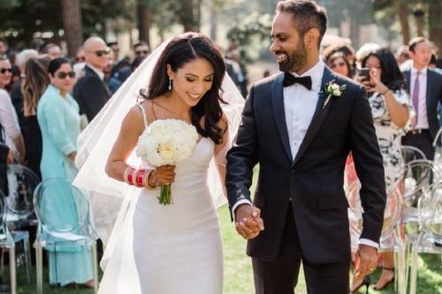Ramit Sethi và vợ Cassandra trong ngày cưới. Ảnh: Ramit Sethi