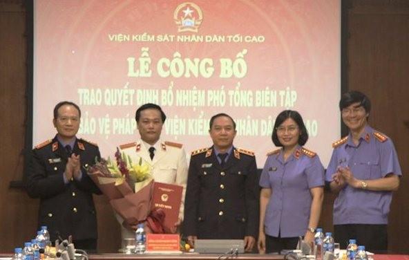 Viện Kiểm sát Nhân dân Tối cao tiếp nhận, bổ nhiệm nhân sự