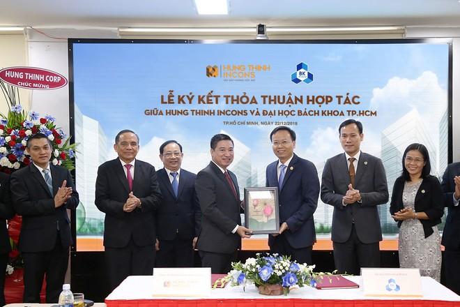 Hưng Thịnh Incons ký kết hợp tác cùng trường Đại học Bách khoa TP.HCM ảnh 1