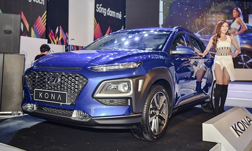 Hyundai Kona mới ra đã hút khách dù không có khuyến mại khủng.