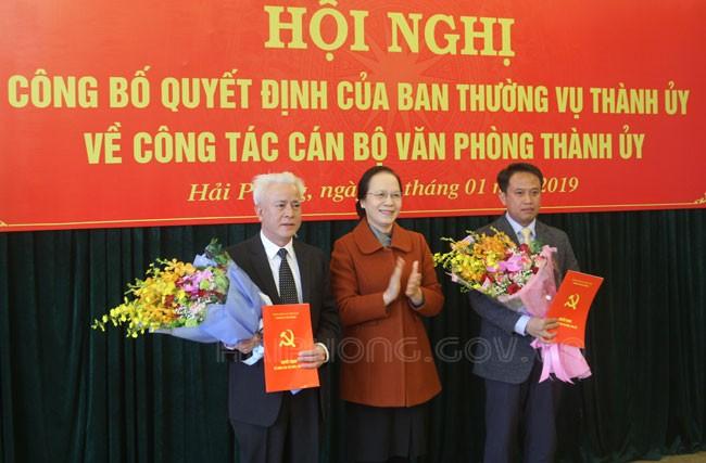 Điều động, bổ nhiệm nhân sự 3 tỉnh thành Hải Phòng, Quảng Ninh và Đắk Nông ảnh 2