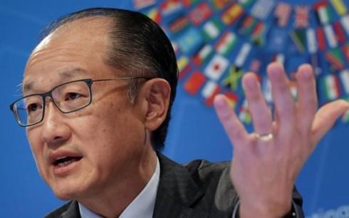 Chủ tịch Ngân hàng thế giới Jim Yong Kim ngày 7/1 đã bất ngờ từ chức (Ảnh: Getty Image).