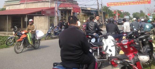 Chi nhánh ngân hàng ở xã Vũ Tiến vừa bị cướp.
