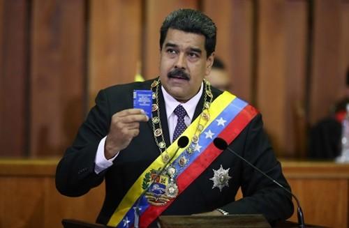 Tổng thống Venezuela Nicholas Maduro. Ảnh: AVN.