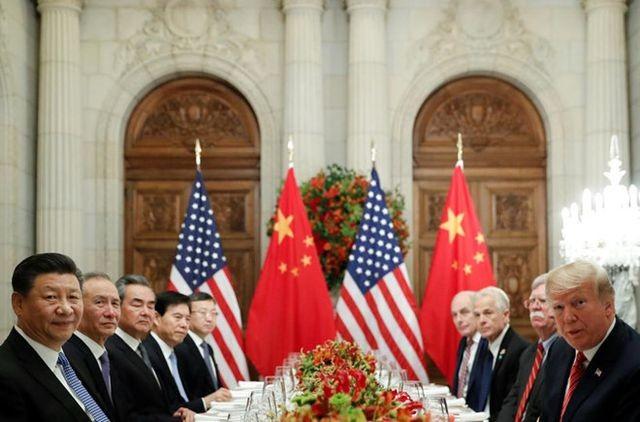 Phái đoàn Mỹ, Trung Quốc đàm phán tại Argentina hồi tháng 12/2018. (Ảnh Reuters).