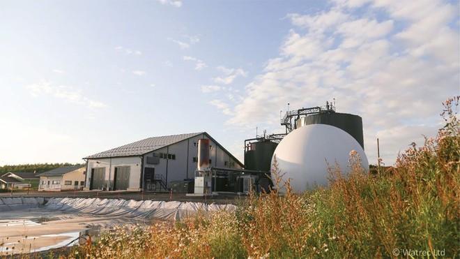 Một nhà máy biogas của Watrec (Nguồn: Watrec).