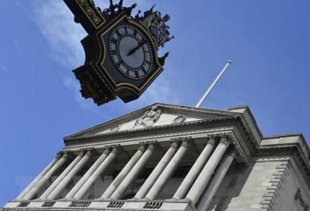 Trụ sở Ngân hàng Trung ương Anh ở London. (Ảnh: Reuteurs/TTXVN)