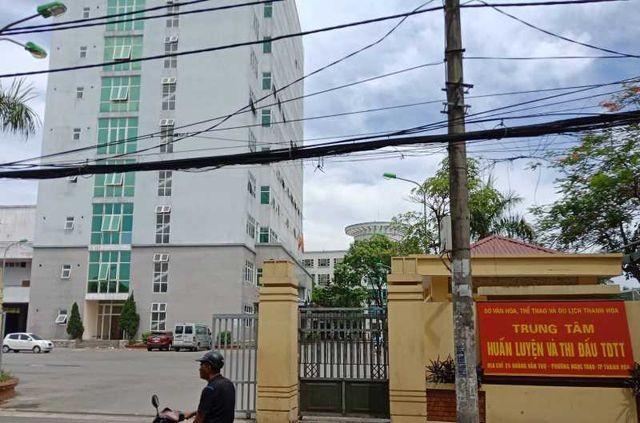 Trung tâm huấn luyện thi đấu thể dục thể thao Thanh Hóa.