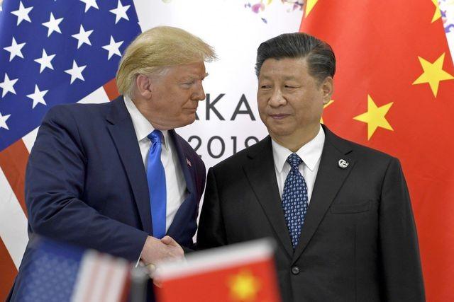 Ông Trump và ông Tập gặp nhau tại Nhật Bản hồi tháng 6 (Ảnh: AP).