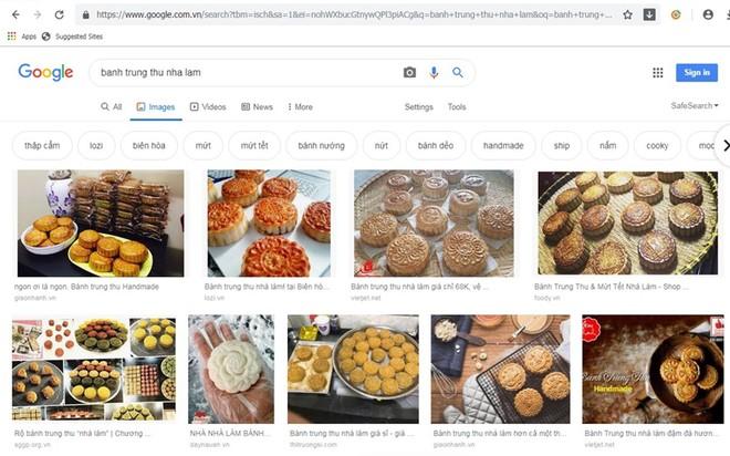 Rất nhiều trang web giới thiệu bánh trung thu nhà làm.