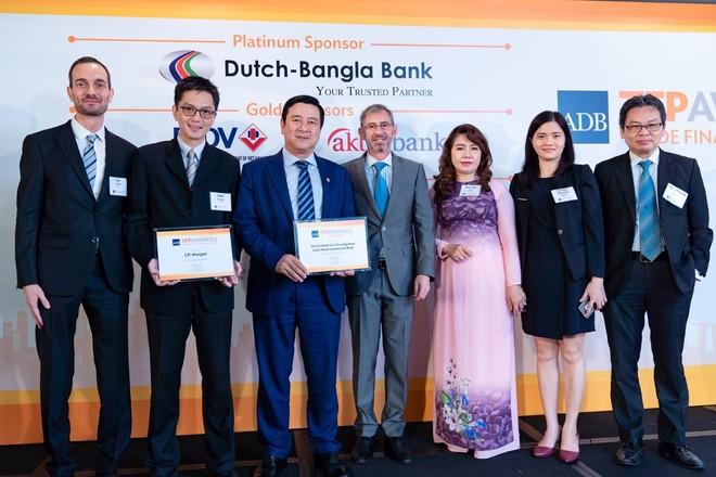 Ngân hàng Việt đầu tiên nhận giải Ngân hàng xanh của ADB ảnh 1