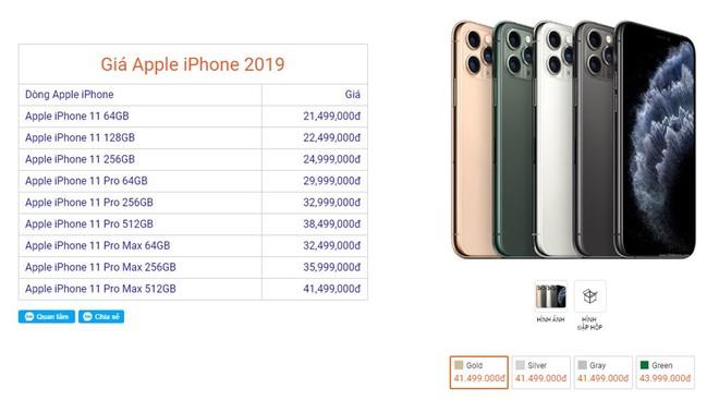 iPhone 11 rớt giá gần 6 triệu sau một ngày về Việt Nam ảnh 1