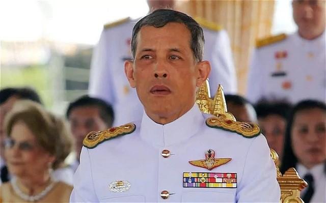 Nhà vua Thái Lan Maha Vajiralongkorn (Ảnh: Reuters).