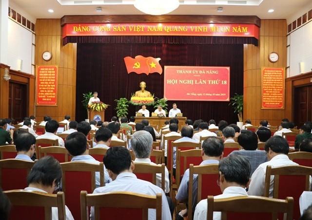 Hội nghị của Ban Thường vụ Thành uỷ Đà Nẵng vừa diễn ra trong ngày 15/10.