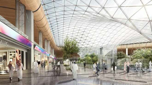 Qatar mở rộng sân bay Hamad. (Nguồn: businesstraveller).